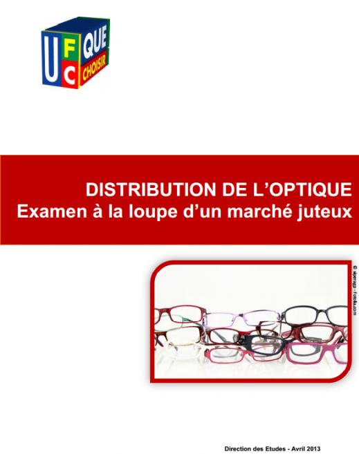L UFC-Que Choisir demande la régulation de la distribution optique par la  généralisation des réseaux de soins   Acuité f307455fa738
