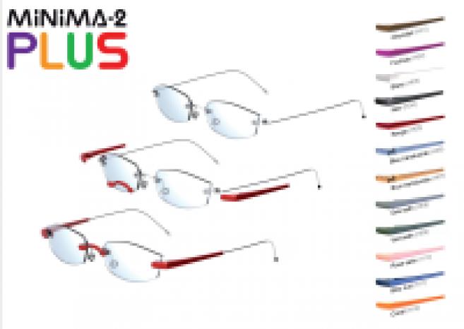 Montures lunettes percées