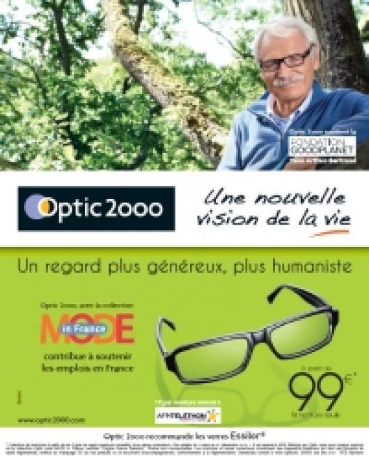 Yann Arthus-Bertrand collabore avec Optic 2000 pour « une nouvelle vision de  la vie »   le spot en avant-première !   Acuité 42e43432d004