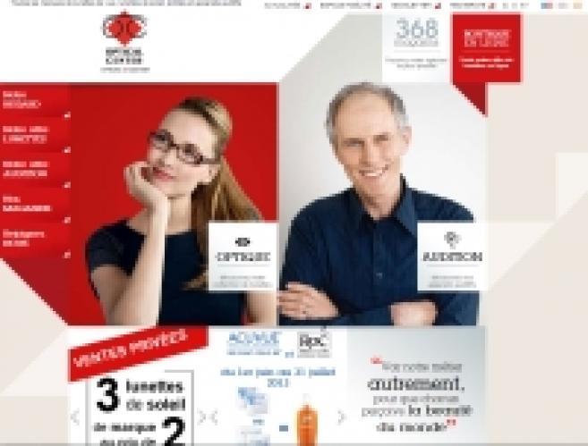6ff1a5de50d078 Optical Center mise sur le développement de la vente en ligne des lunettes  correctrices