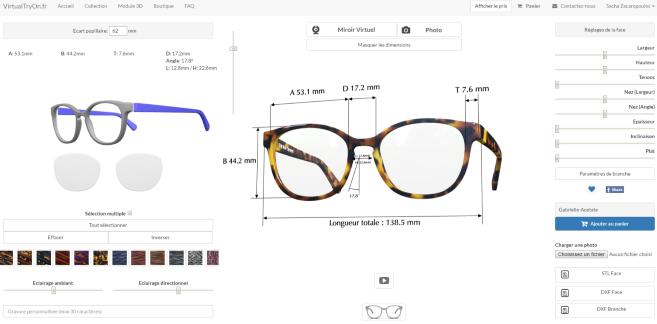 l impression 3d s 39 installe dans la lunette un opticien cr e une solution ultra personnalis e. Black Bedroom Furniture Sets. Home Design Ideas