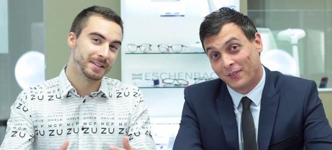 Mathieu et Maxime sont vos opticiens-animateurs Acuité TV pour le Silmo  2017 ! 7b32d7480eda