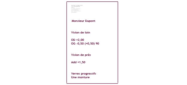Le renouvellement des ordonnances optiques par les généralistes expérimenté  sur proposition des orthoptistes   Acuité 00423ae9126b