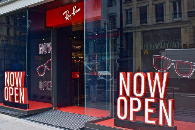 magasin officiel ray ban paris