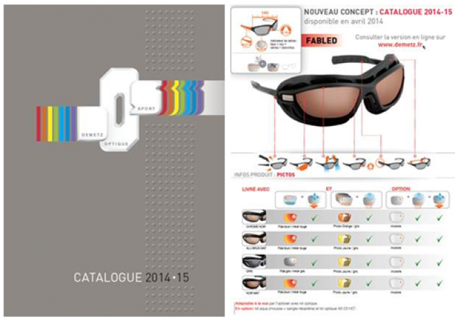 Demetz Sports Optics   le nouveau catalogue et les PLV disponibles fin avril c4104fda3bab