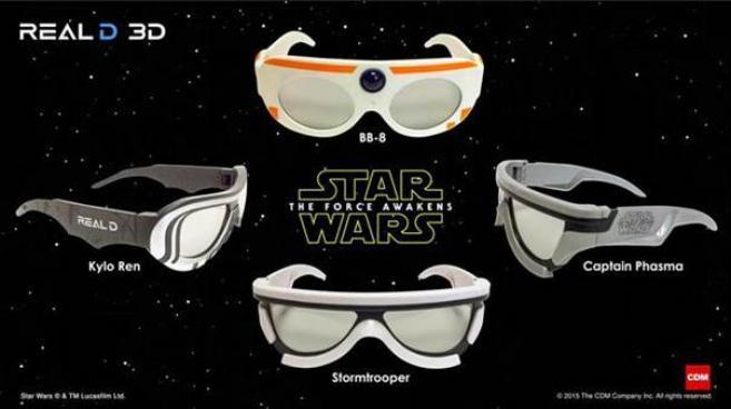 Star Wars   des lunettes 3D disponibles pour les plus grands fans a8ff03095fb1