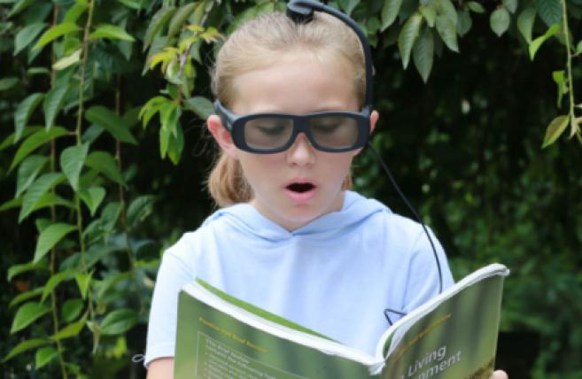 Des lunettes intelligentes lancées par la start-up Narbis  ©Narbis