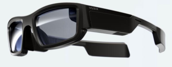 10c72fb325e Les verres correcteurs s intègrent aux lunettes à réalité augmentée grâce à  l impression 3D