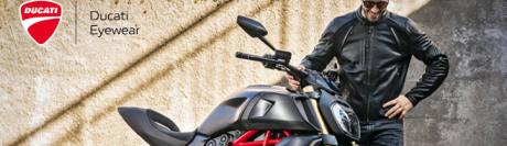 Ducati Eyewear : une ligne masculine au tempérament sportif