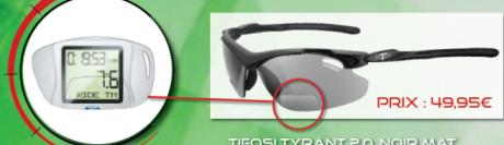 Tifosi imagine un système de loupe grossissante sur des solaires pour les presbytes sportifs
