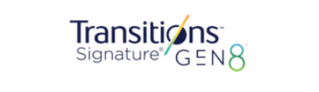 Les verres Transitions Signature GEN8 disponibles chez Shamir