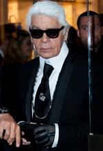 Décès du grand couturier Karl Lagerfeld