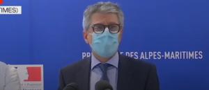 Le préfet des Alpes-Maritimes, Bernard Gonzalez