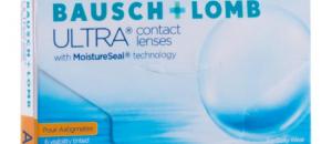 Bausch&Lomb : Extension des paramètres de la lentille mensuelle pour astigmates Ultra