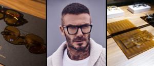La légende du football David Beckham collabore avec Safilo