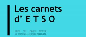 « Les carnets d'ETSO » : 2 nouveaux livres pour les étudiants de 1ère et 2e année de BTS OL