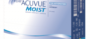 1-Day Acuvue Moist for Astigmatism désormais disponible en boîte de 90