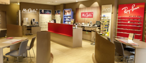 La chaîne de magasin McOptic