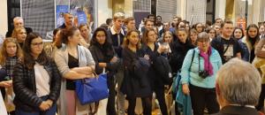 Les étudiants en 1re et 2e année du BTS OL étaient réunis lors du traditionnel gala de l'optique du Lycée Victor Bérard de Morez