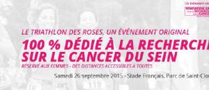 Loubsol partenaire du Triathlon des Roses