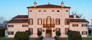 Villa Zaguri, siège de Kering Eyewear à Padoue (Italie)
