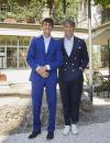 Rocco Basilico e Brunello Cucinelli