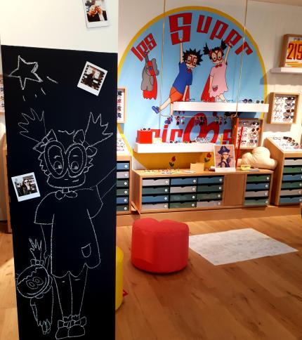 Les Super Miroos-nouveau concept pour les enfants