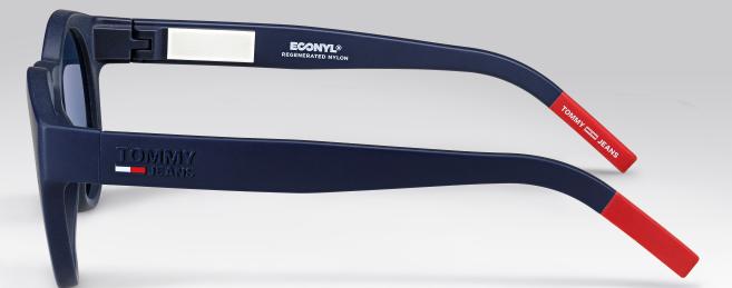 Le matériauEconyl a été utilisé pour lanouvelle collection de lunettes Tommy Jeans