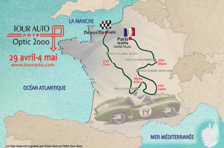 28e édition du Tour Auto Optic 2000
