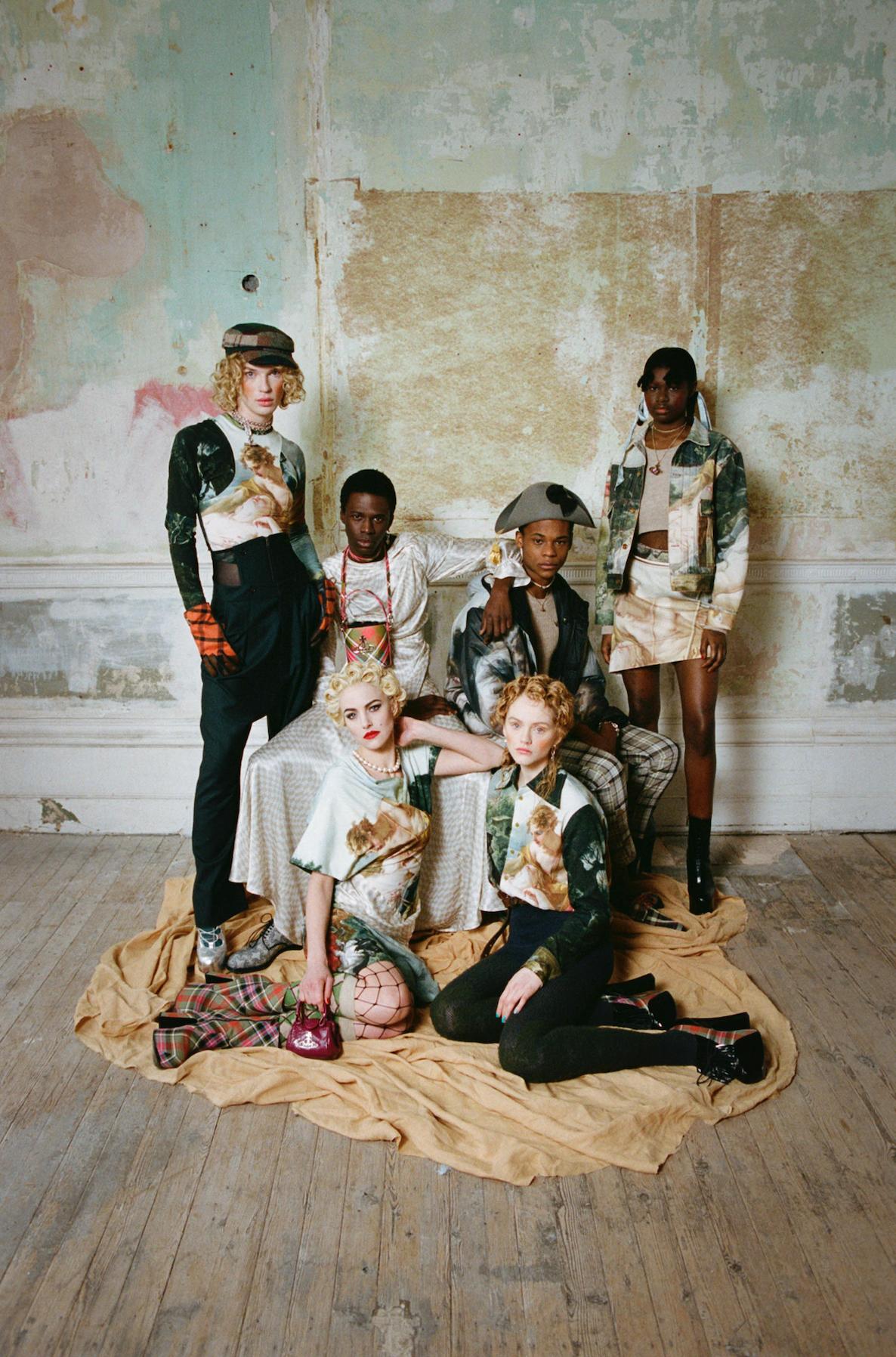 Collection Vivienne Westwood Automne/Hiver 2021/2022 © Alice Dellal