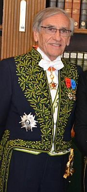 Yves Pouliquen est entré à l'Académie française en 2001 ©Clement Moutiez